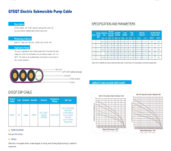 QYEQT Electric Submersible Pump Cable